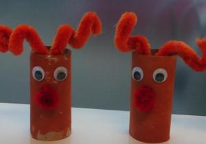Rudolf komt ook ee kijkje nemen